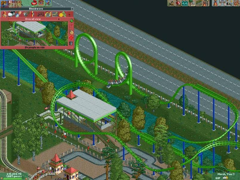 RollerCoaster Tycoon 2 system requirements Videos, Cheats