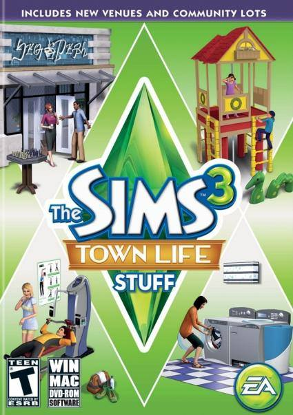 The Sims 3: Town Life Stuff system requirements Videos