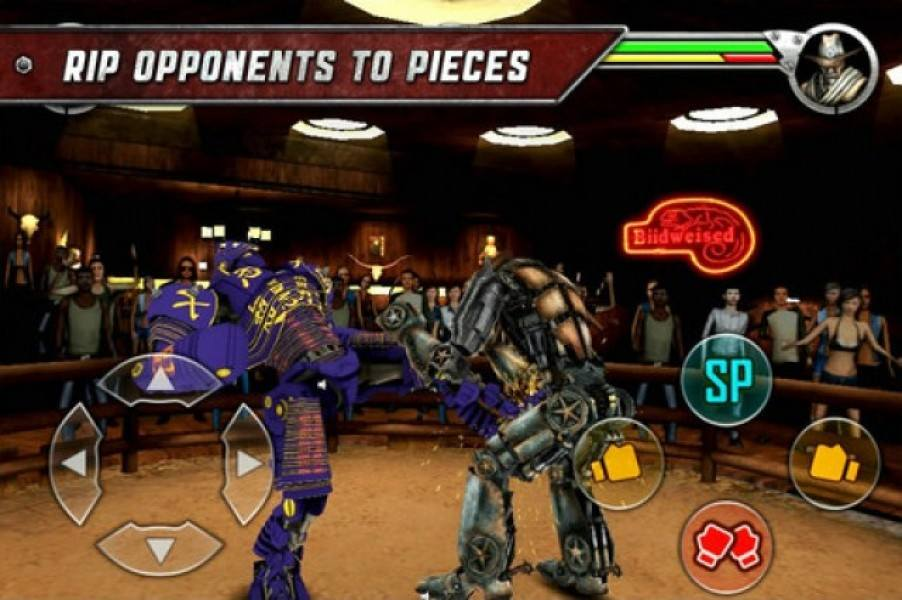 real steel games online