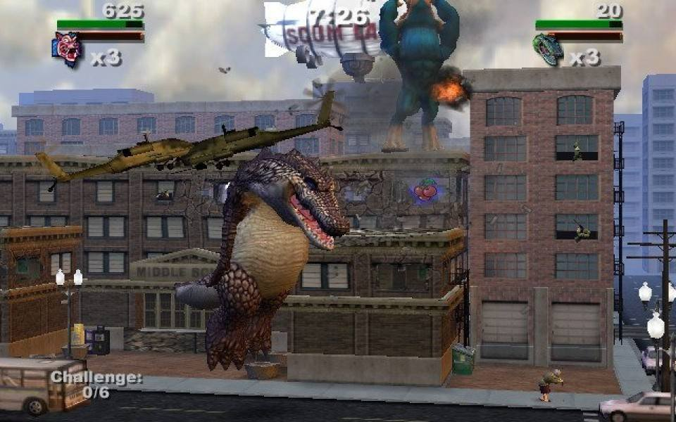 rampage total destruction gamecube cheats