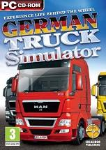 German Truck Simulator dvd cover