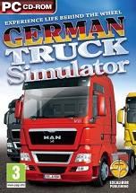 German Truck Simulator dvd cover