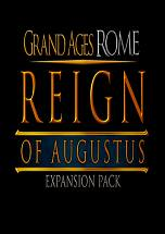 Grand Ages Rome: Reign of Augustus dvd cover