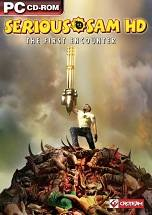 Serious Sam HD: The First Encounter dvd cover