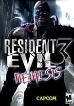 Resident Evil 3: Nemesis dvd cover