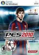 Pro Evolution Soccer 2010 dvd cover