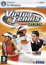 Virtua Tennis 2009 dvd cover