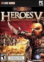 Heroes of Might and Magic V: Tribes of the East dvd cover