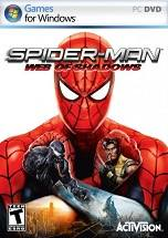 Spider-Man: Web of Shadows dvd cover