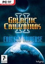 Galactic Civilizations II: Endless Universe dvd cover