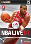 NBA Live 07 dvd cover