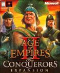 Age of Empires II: The Conquerors Expansion dvd cover