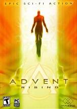 Advent Rising dvd cover