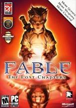 Fable: The Lost Chapters dvd cover