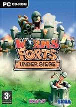 Worms Forts: Under Siege dvd cover