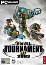 Unreal Tournament 2003 dvd cover