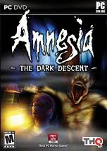 Amnesia: The Dark Descent dvd cover