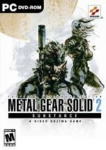 Metal Gear Solid 2: Substance dvd cover