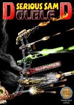 Serious Sam: Double D dvd cover