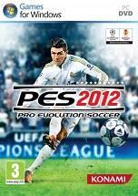 Pro Evolution Soccer 2012 dvd cover