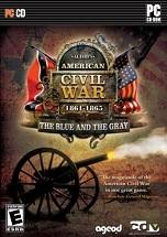 AGEOD's American Civil War: 1861-1865 - The Blue and the Gray dvd cover