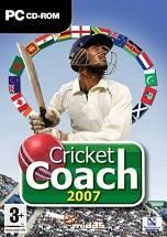 Cricket Coach 2007 dvd cover