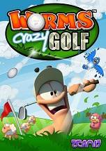 Worms Crazy Golf dvd cover