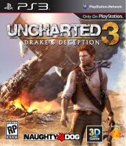 Uncharted 3: Drake's Deception dvd cover