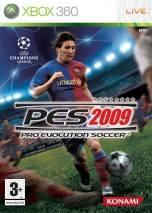 Pro Evolution Soccer 2009 dvd cover