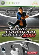 Pro Evolution Soccer 2007 dvd cover