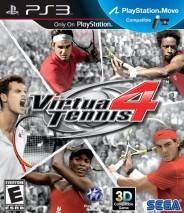 Virtua Tennis 4  dvd cover