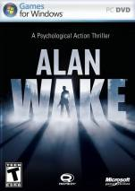 Alan Wake dvd cover