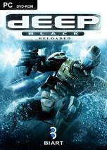 Deep Black: RELOADED dvd cover