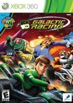 Ben 10: Galactic Racing dvd cover