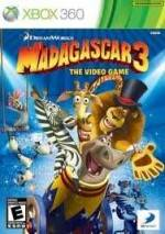 Madagascar 3: The Video Game Cover