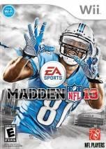 Madden NFL 13  dvd cover