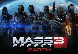 Mass Effect 3: Earth dvd cover