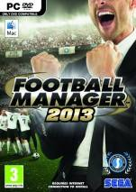 Football Manager 2013 dvd cover