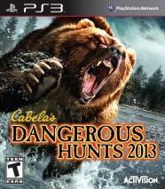 Cabela's Dangerous Hunts 2013 cd cover