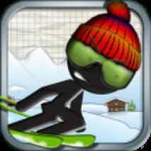 Stickman Ski Racer (Free) dvd cover