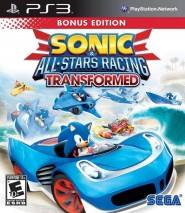 Sonic & All-Stars Racing Transformed dvd cover
