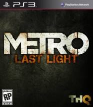 Metro: Last Light Cover