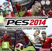 Pro Evolution Soccer 2014 dvd cover