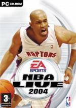 NBA Live 2004 dvd cover