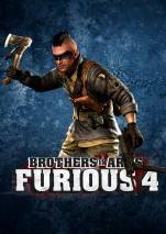 Brothers in Arms: Furious 4 dvd cover