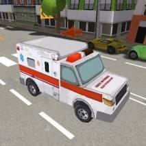3D Ambulance Driving Simulator dvd cover