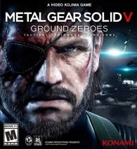 METAL GEAR SOLID V: GROUND ZEROES Cover