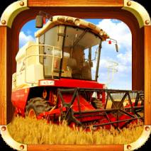 Reaping Machine Farm Simulator dvd cover