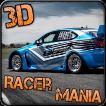 3D Track Racer Mania dvd cover
