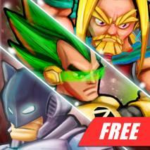 Superheros 2 Fighting Games dvd cover